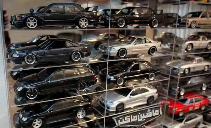 درباره ماشین ماکت :