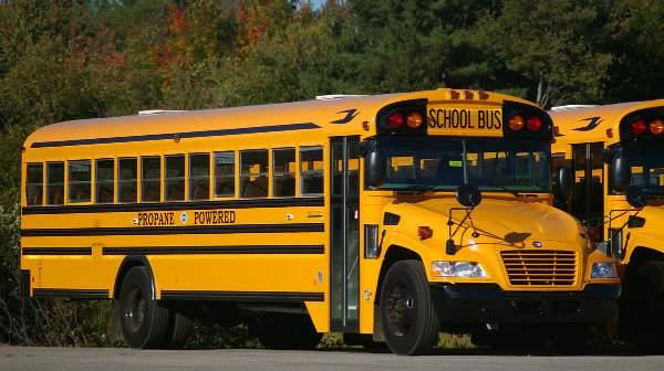 اتوبوسهای مدرسه زردرنگ آمریکایی