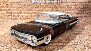 ماکت ماشین شورلت ایمپالا 1960